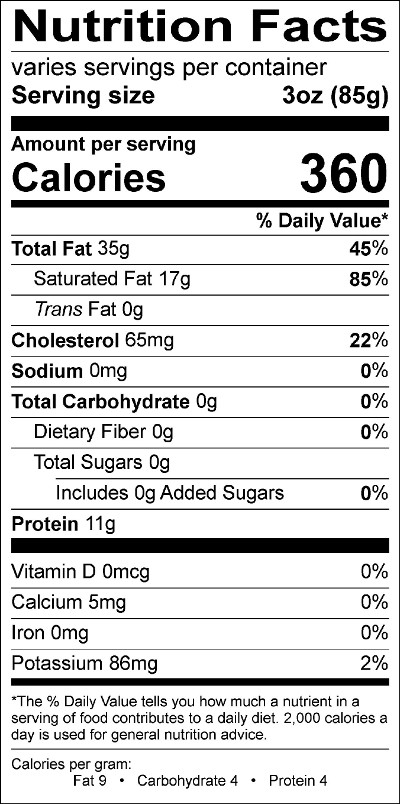 Top Five Red Meat Nutrition Facts - Circus
