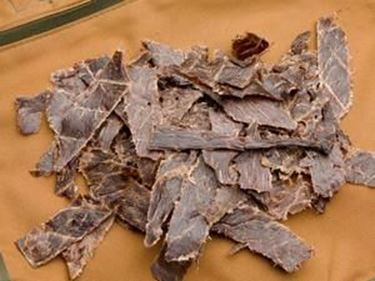 Picture of Beef Jerky Portions Plain - 8 oz.