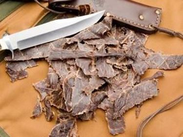 Picture of Beef Jerky Portions Spicy - 8 oz.