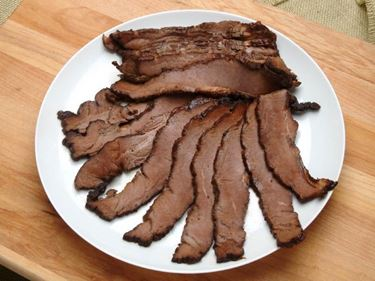 Picture of Sugar Free Hickory Smoked Sliced Beef Brisket - 1.5 lbs.