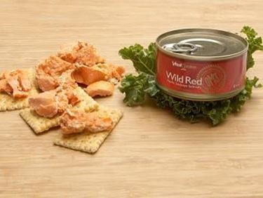 Picture of Wild Skinless Boneless Canned Alaskan Wild Red Salmon - 6 oz.