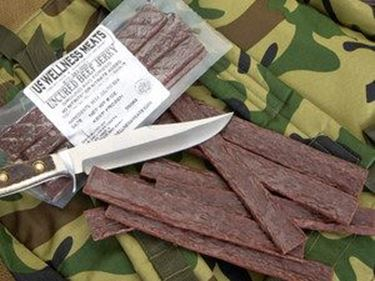 Picture of Beef Jerky Sticks - Plain 6-8 sticks (8 oz. total)