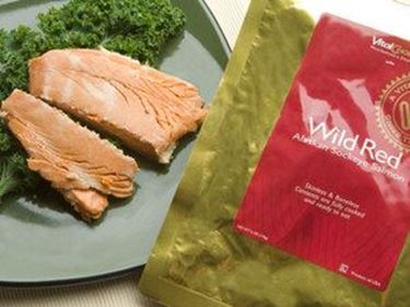 Picture of Wild Red Boneless Skinless Pouched Salmon - 6 oz.