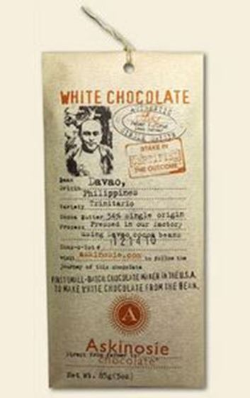 Picture of Davao White Chocolate Bar