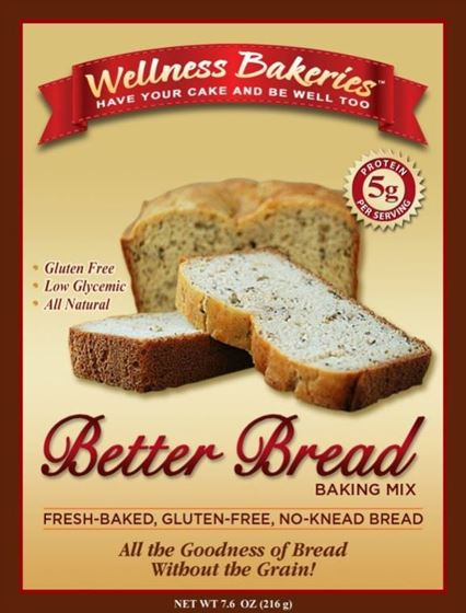 Picture of Wellness Bakeries Better Bread Mix