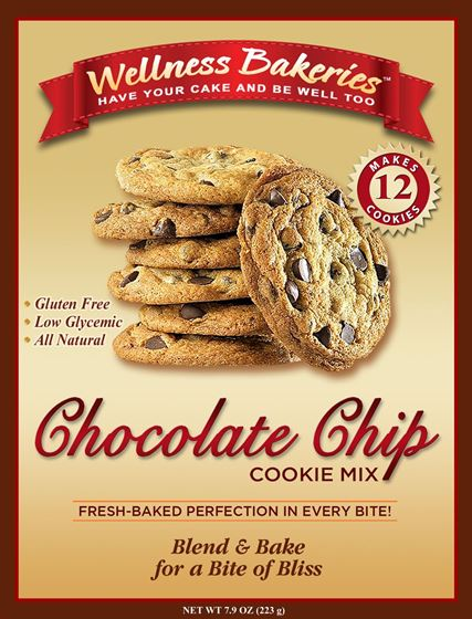 Picture of Wellness Bakeries Chocolate Chip Cookie Mix